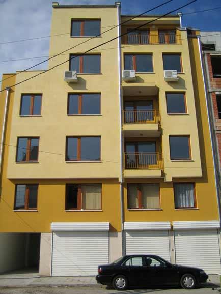 Жилищна сграда, град Пловдив